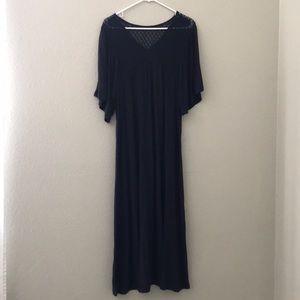 Zara oversized maxi dress M